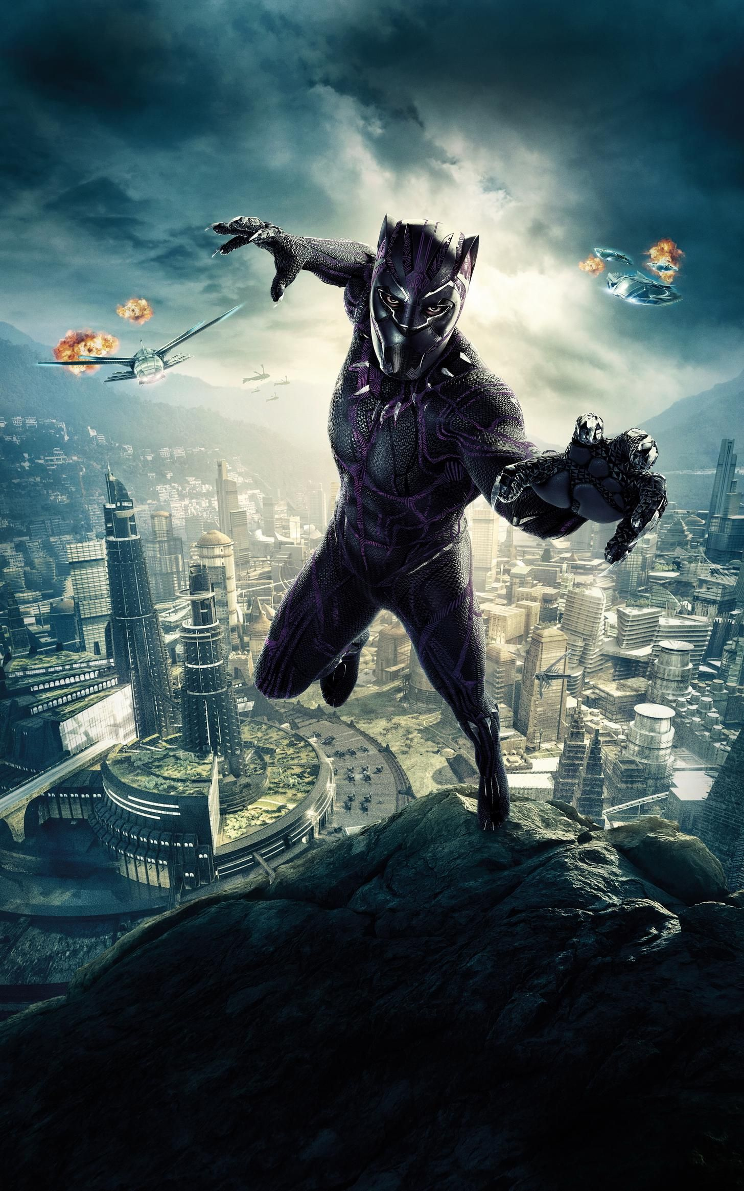 1456x2330 Movie of the Week: Black Panther (Mobile Wallpapers 211 ...