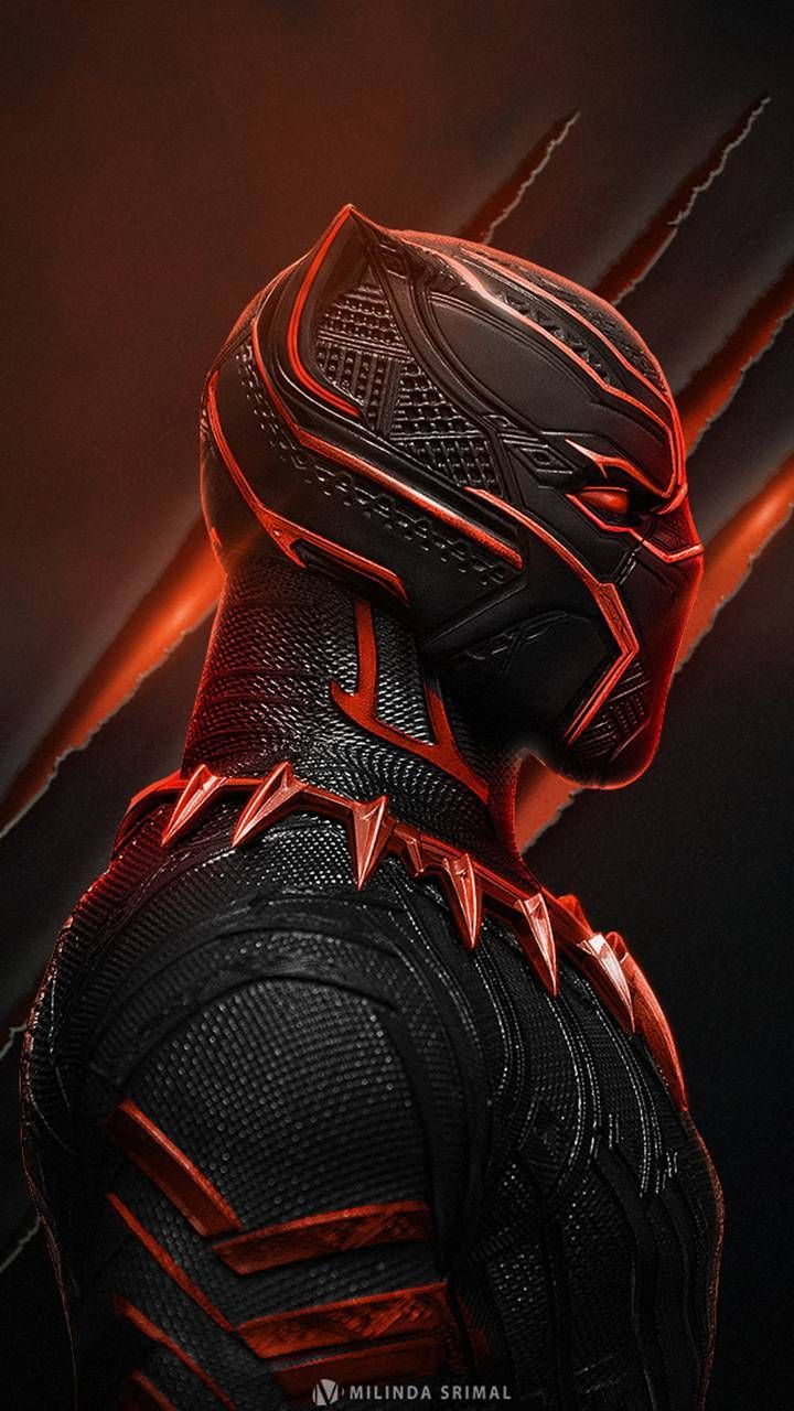720x1280 Black Panther | Flash | Marvel wallpaper, Black panther ...