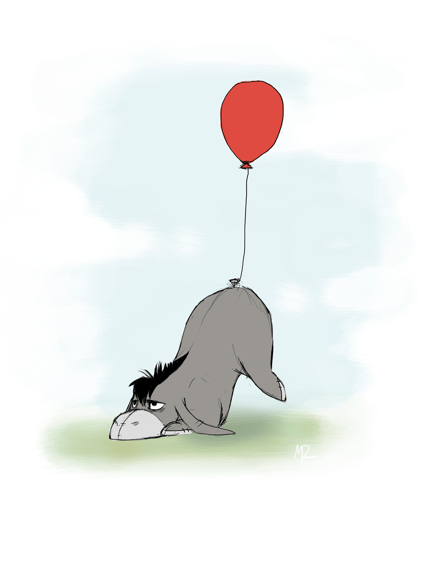 900x1165 Eeyore by WolfOfFire on DeviantArt