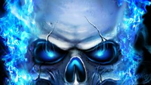 Blue Fire Skull Wallpapers – Top Free Blue Fire Skull Backgrounds