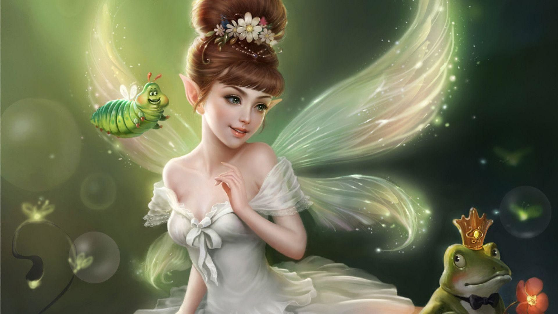 1920x1080 70+ Hd Fairy Wallpapers on WallpaperPlay