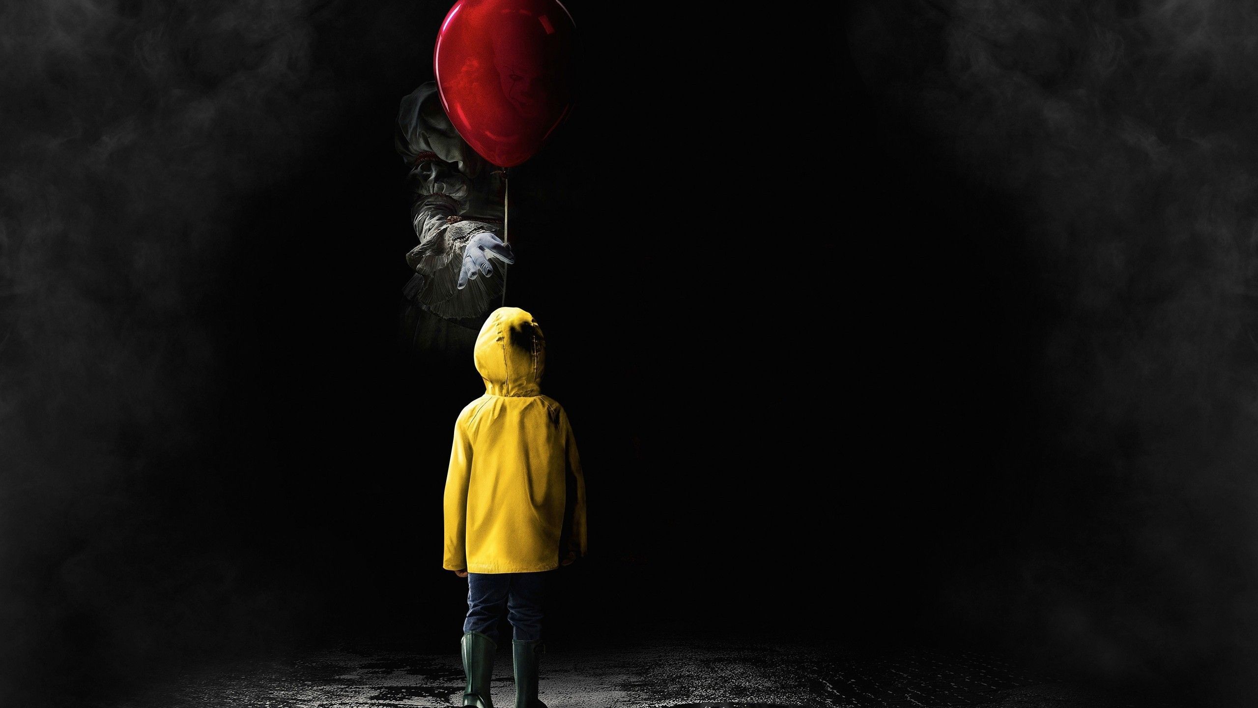 2560x1440 Download 2560x1440 It 2017, Clown, Horror Wallpapers for ...