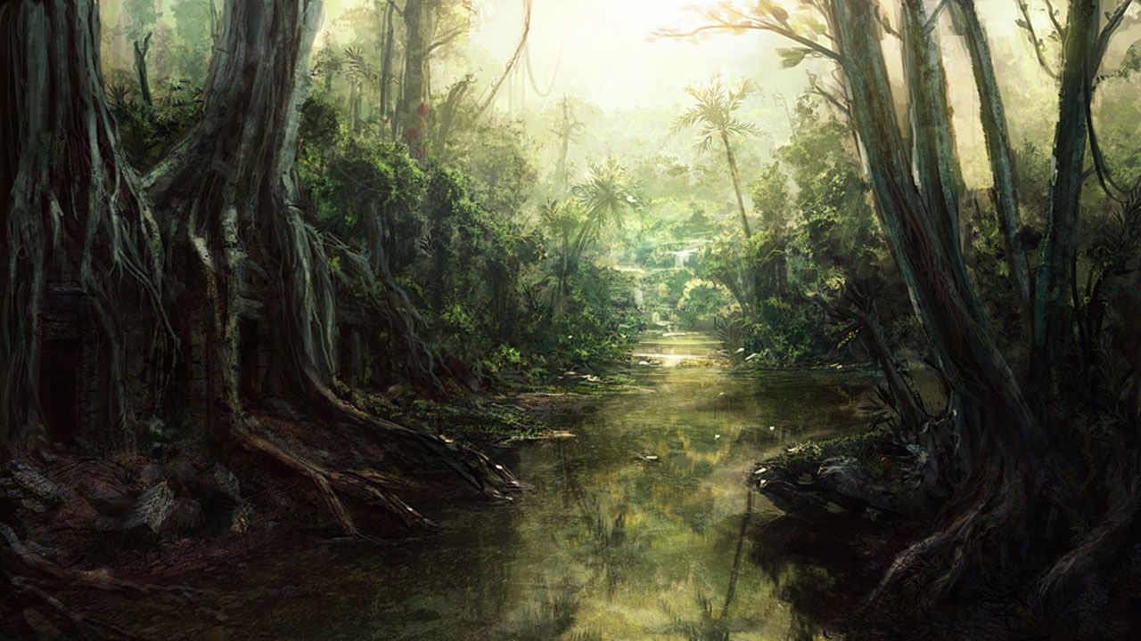 1280x720 Jungle Wallpaper #6835734