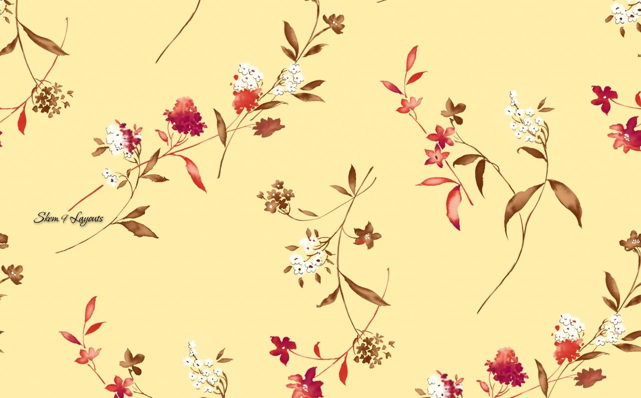 1280x795 Floral Print Wallpaper | Flower Print Wallpaper | i just like the ...