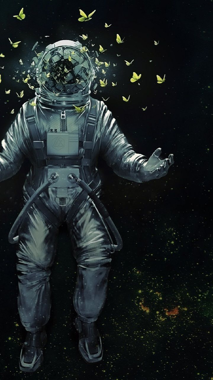 720x1280 Download Astronaut In Dream Space 960x544 Resolution, Full HD Wallpaper