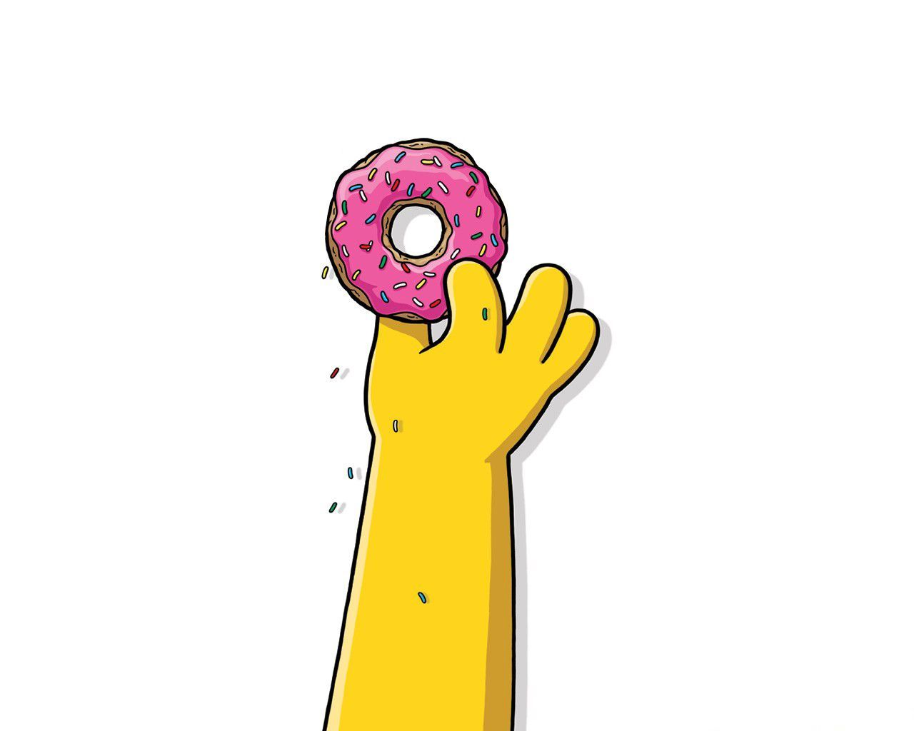 1280x1024 Homer Simpson Donut Quotes. QuotesGram | backgrounds ...