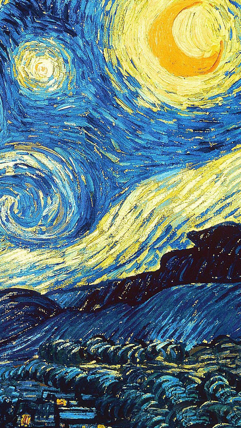 960x1704 Starry Night iPhone 5 Wallpapers Group (66+)