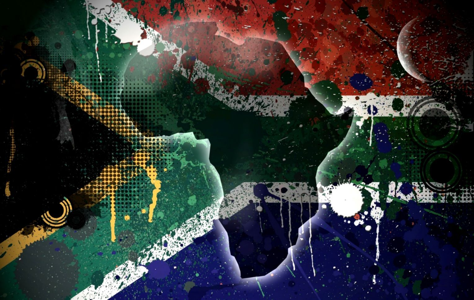 1528x966 South Africa Flag Wallpapers Background | Wallpapers Arena