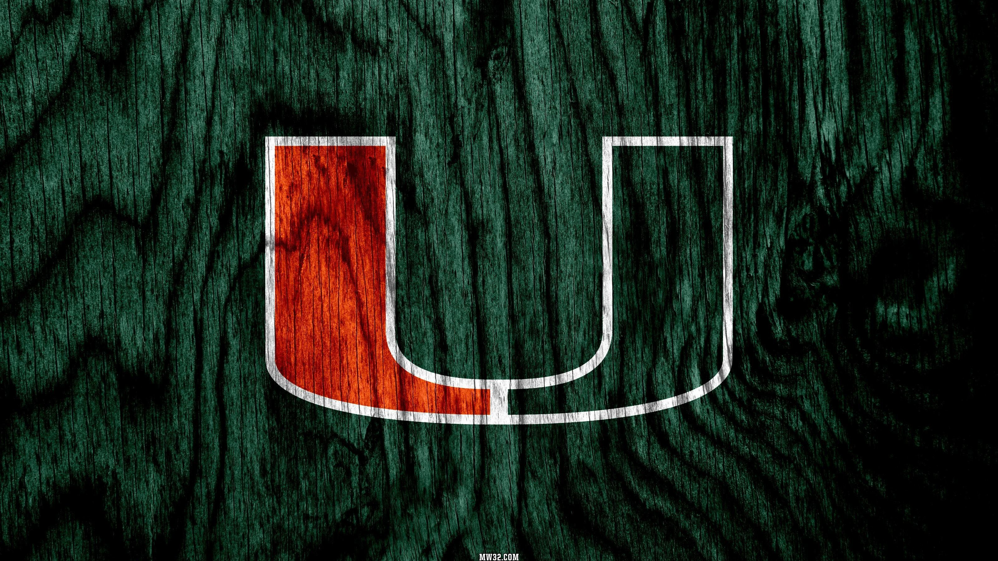 3201x1800 65+ Miami Hurricanes Wallpapers on WallpaperPlay