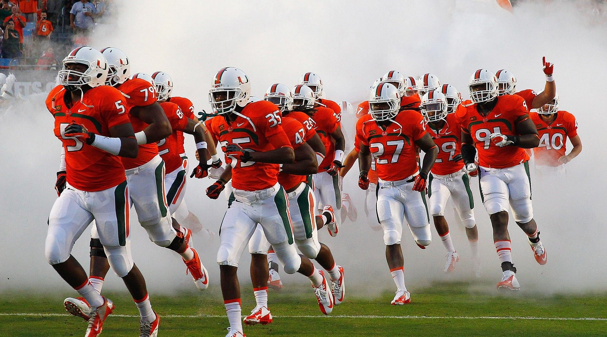 1980x1100 65+ Miami Hurricanes Wallpapers on WallpaperPlay