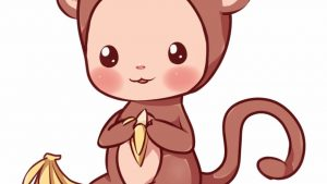 Kawaii Monkey Wallpapers – Top Free Kawaii Monkey Backgrounds