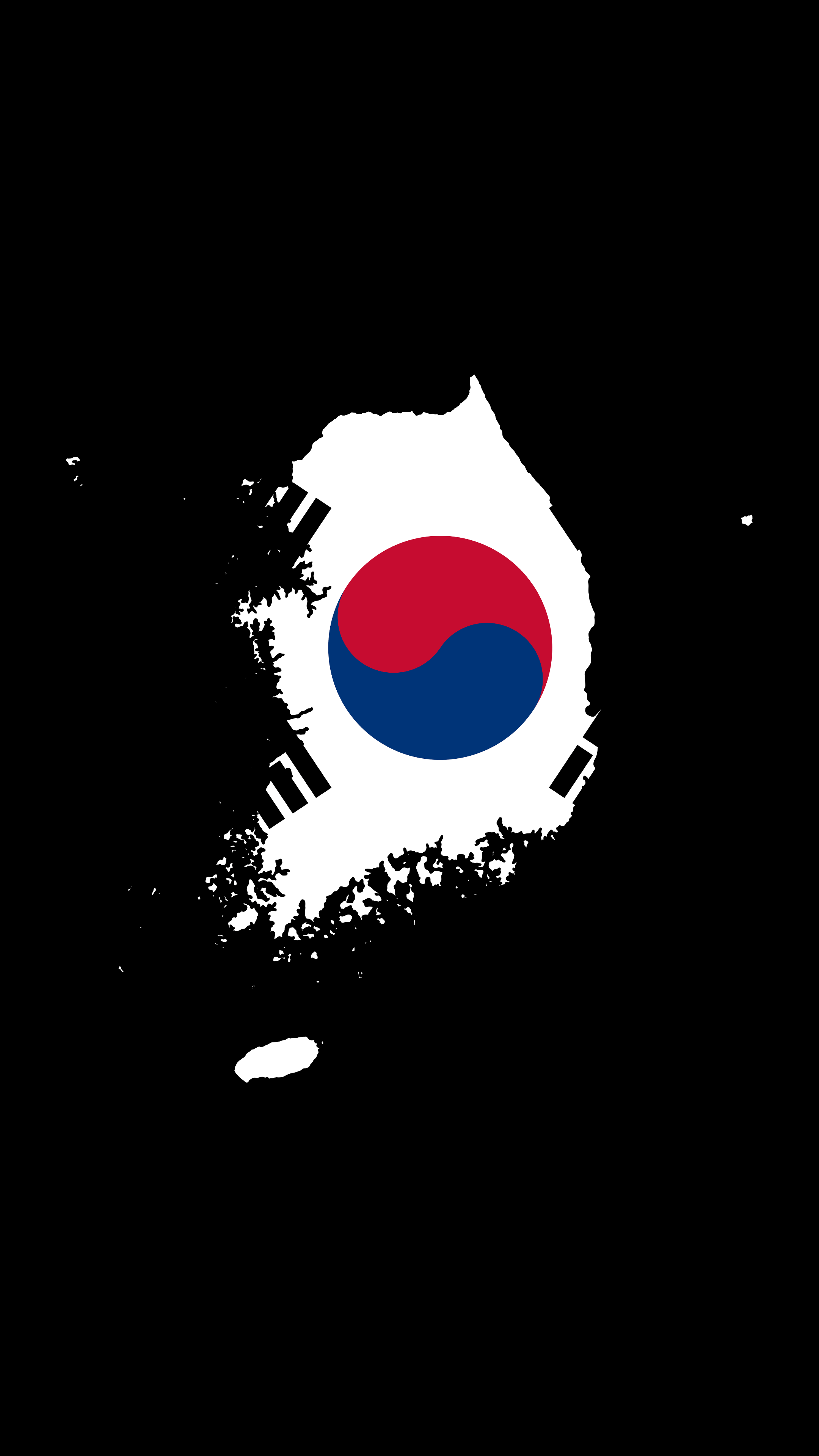 2160x3840 South Korea - Flag and Country - Fulfilled Request [2160x3840 ...