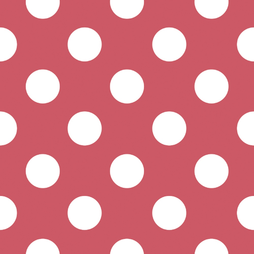 1000x1000 Galerie Official Minnie Mouse Polka Dot Childrens Wallpaper MO3006-1