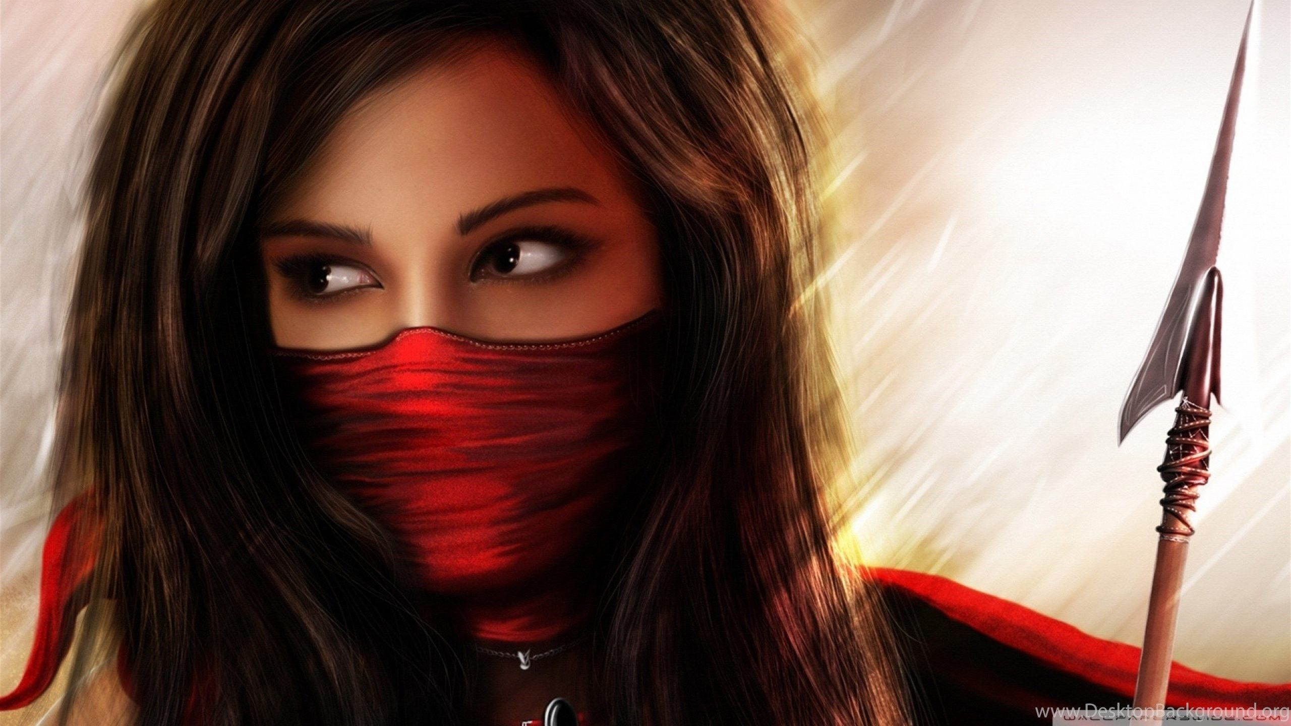 2560x1440 Ninja Girl Archives Wallpapers HD Free Wallpapers In All ... Desktop ...