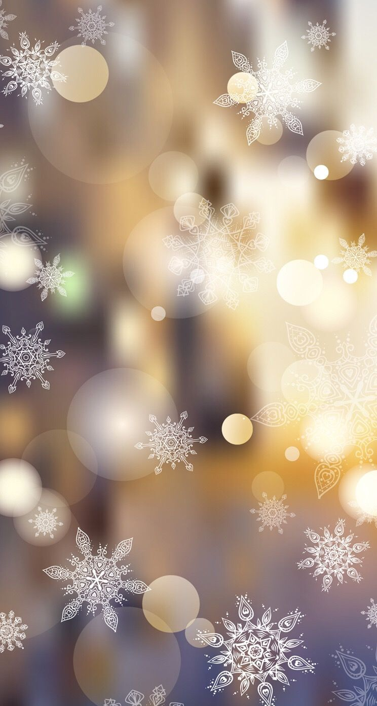 744x1392 Wallpaper iPhone #winter#snowflakes⚪️ | Phone wallpapers ...