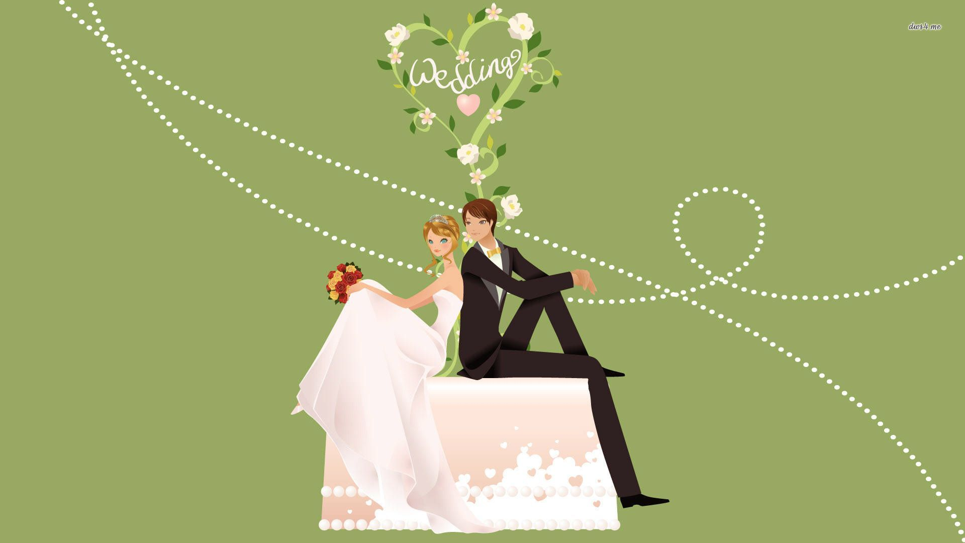 1920x1080 just married couple HD Wallpaper - Man Wallpaper Woman ...
