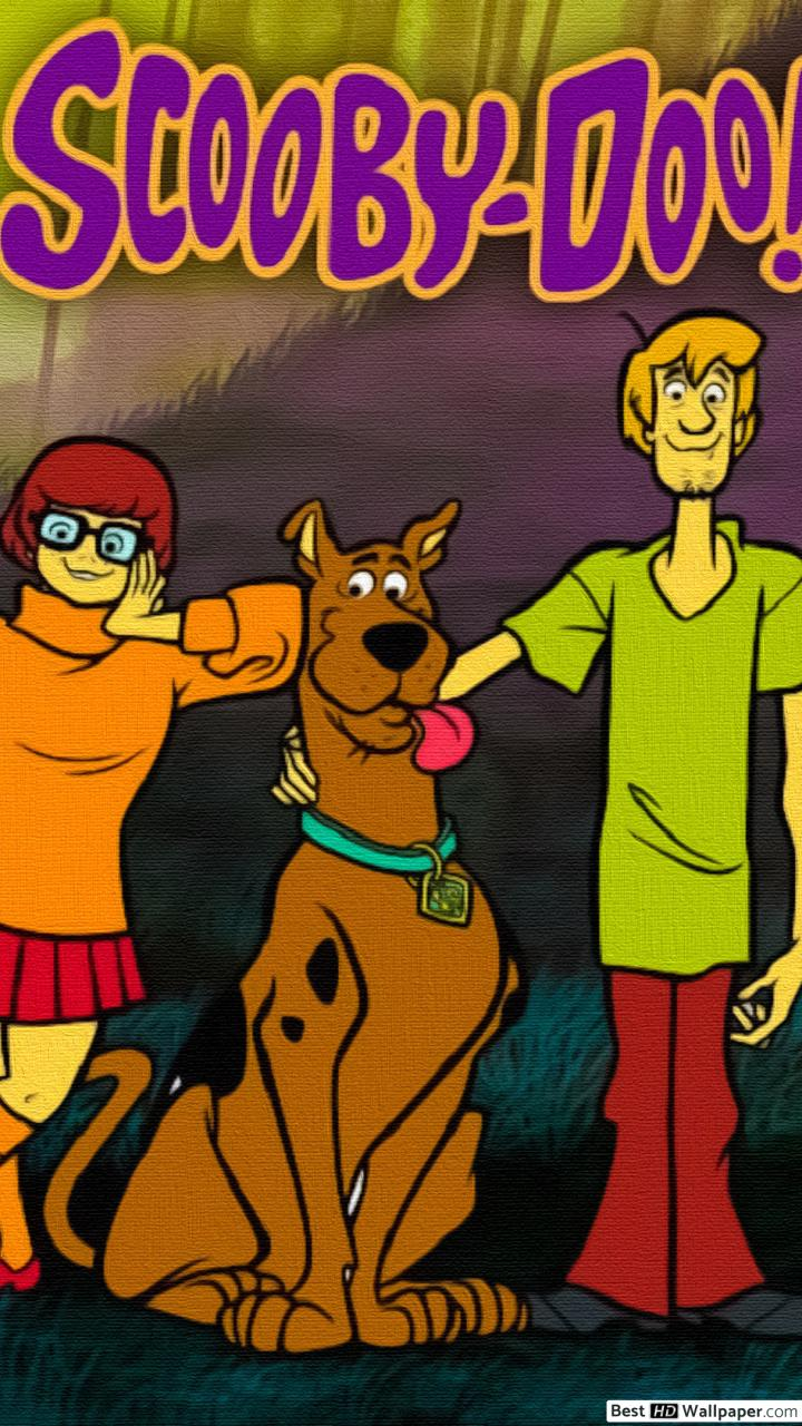 720x1280 The scooby-doo gang HD wallpaper download