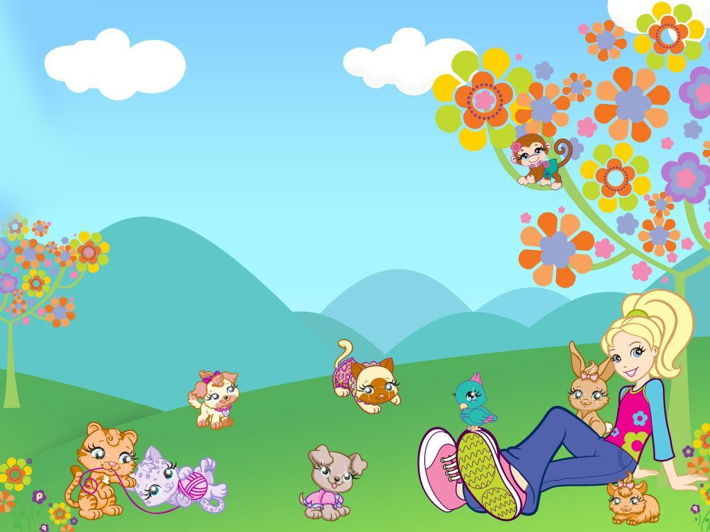 1024x768 Polly Pocket Wallpapers