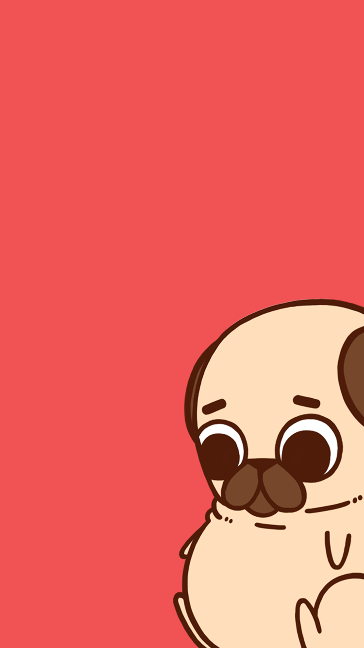 750x1334 Puglie Pug Wallpapers