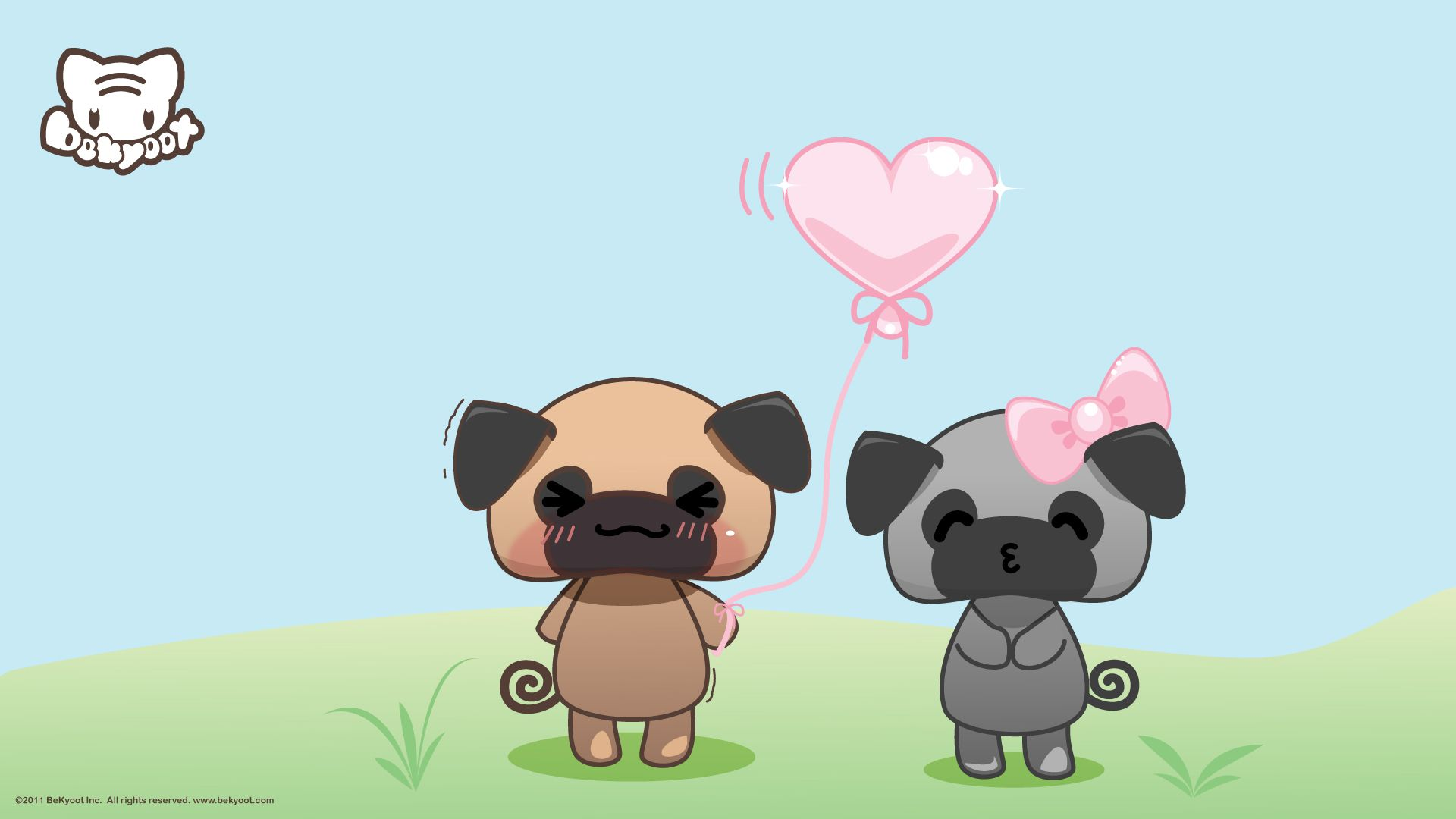 1920x1080 45+] Spring Pug Wallpaper on WallpaperSafari