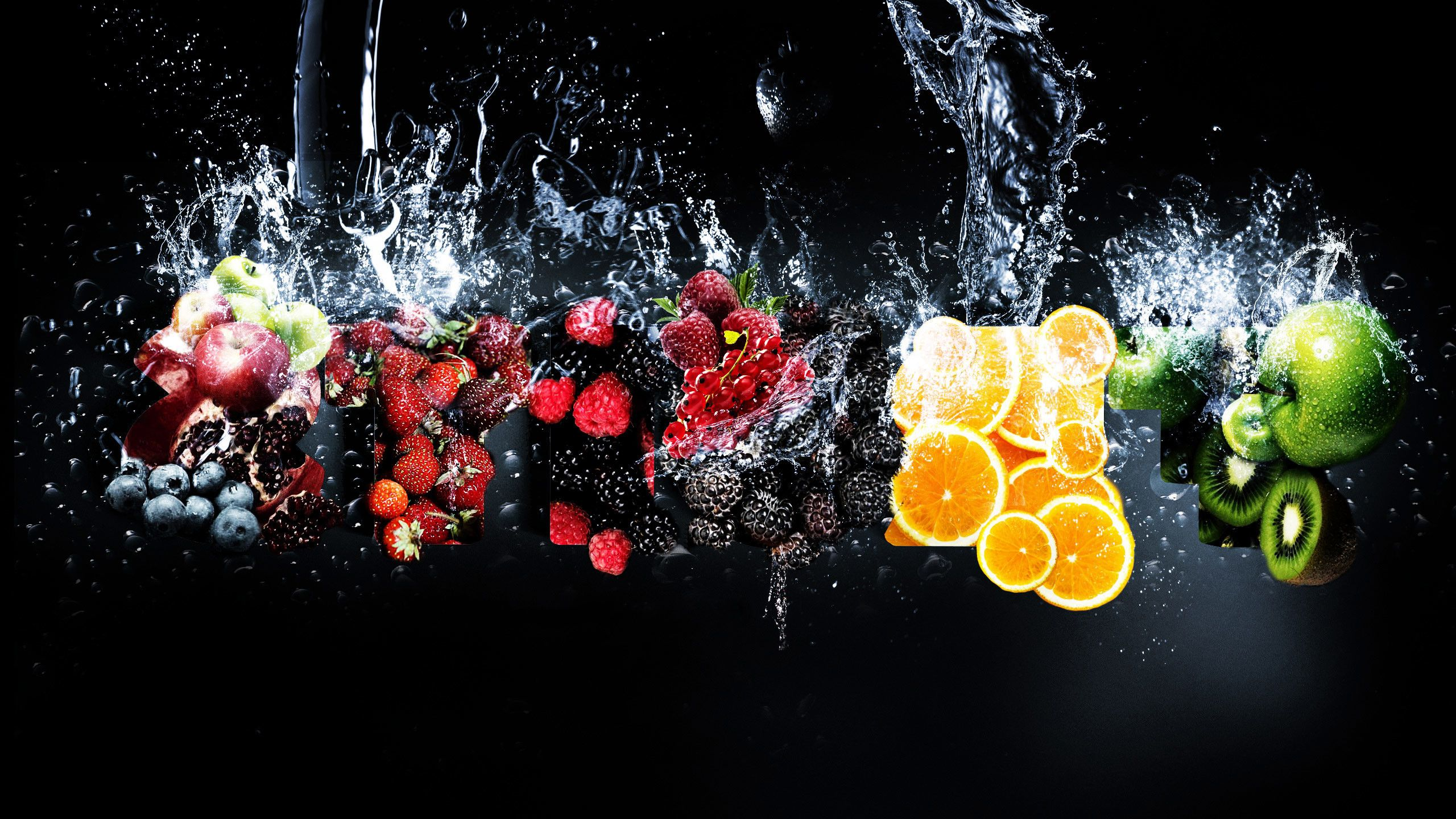 2560x1440 65+ Fruit Background Wallpapers on WallpaperPlay
