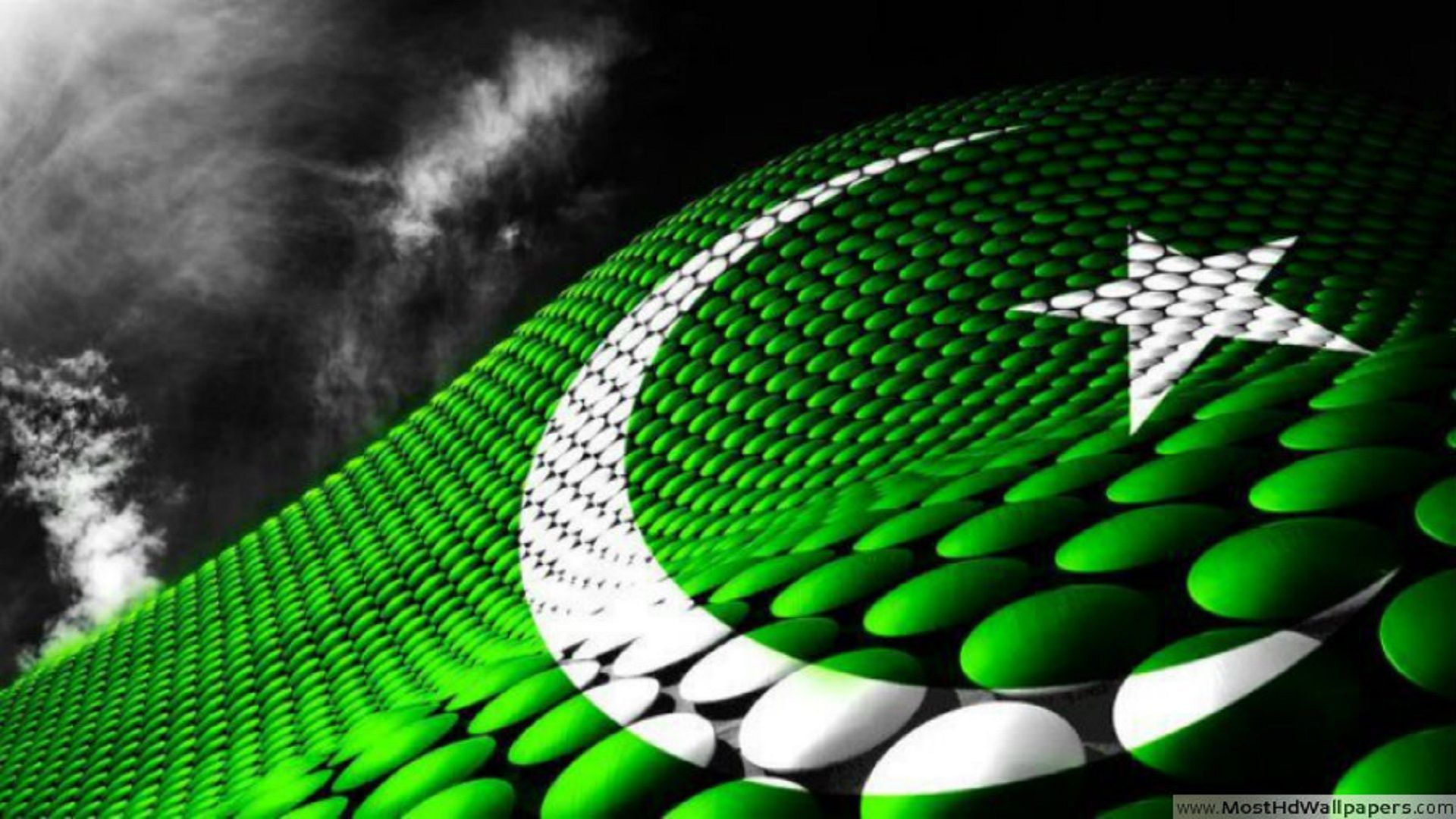 1920x1080 Pakistani Flag HD Free Wallpapers For Desktop | All ...