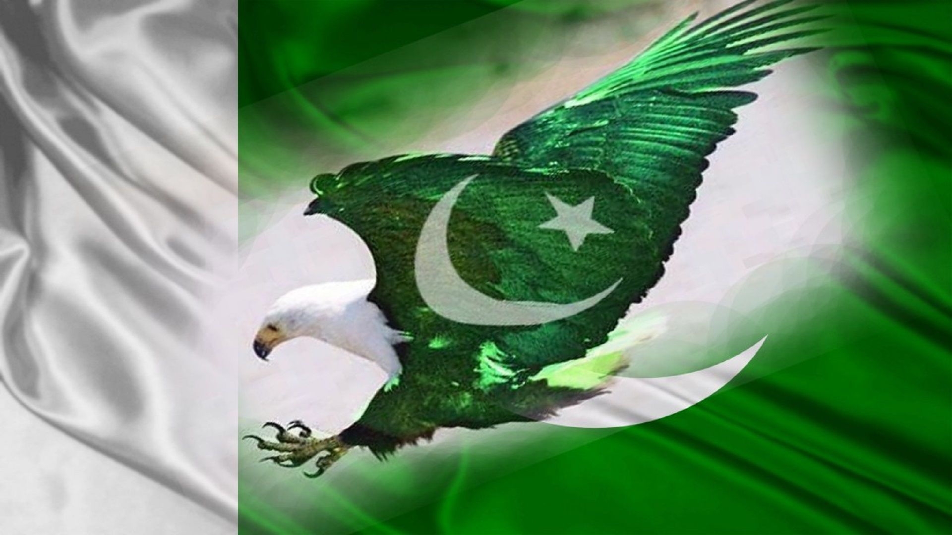 1920x1080 eagle-pakistani-flag-wallpapers-free-hd - HD Wallpaper