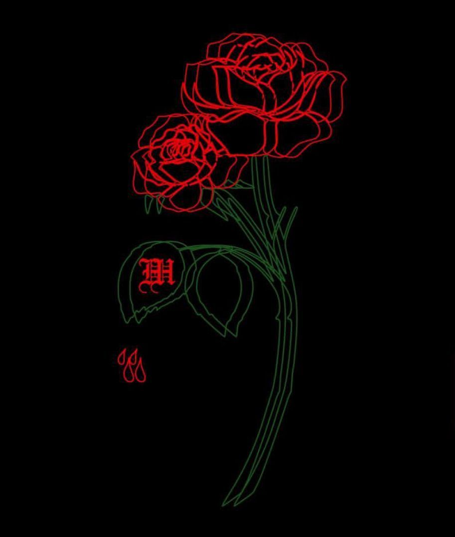 Neon Rose Wallpapers - Top Free Neon Rose Backgrounds ...