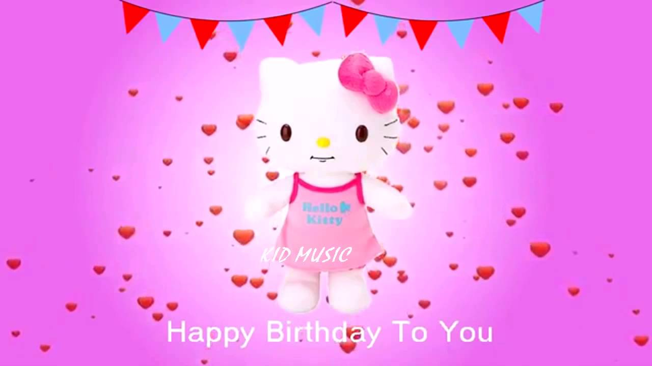 1280x720 Hello Kitty Song   Happy Birthday Song Nursery Rhymes Kids Songs And Baby  Song