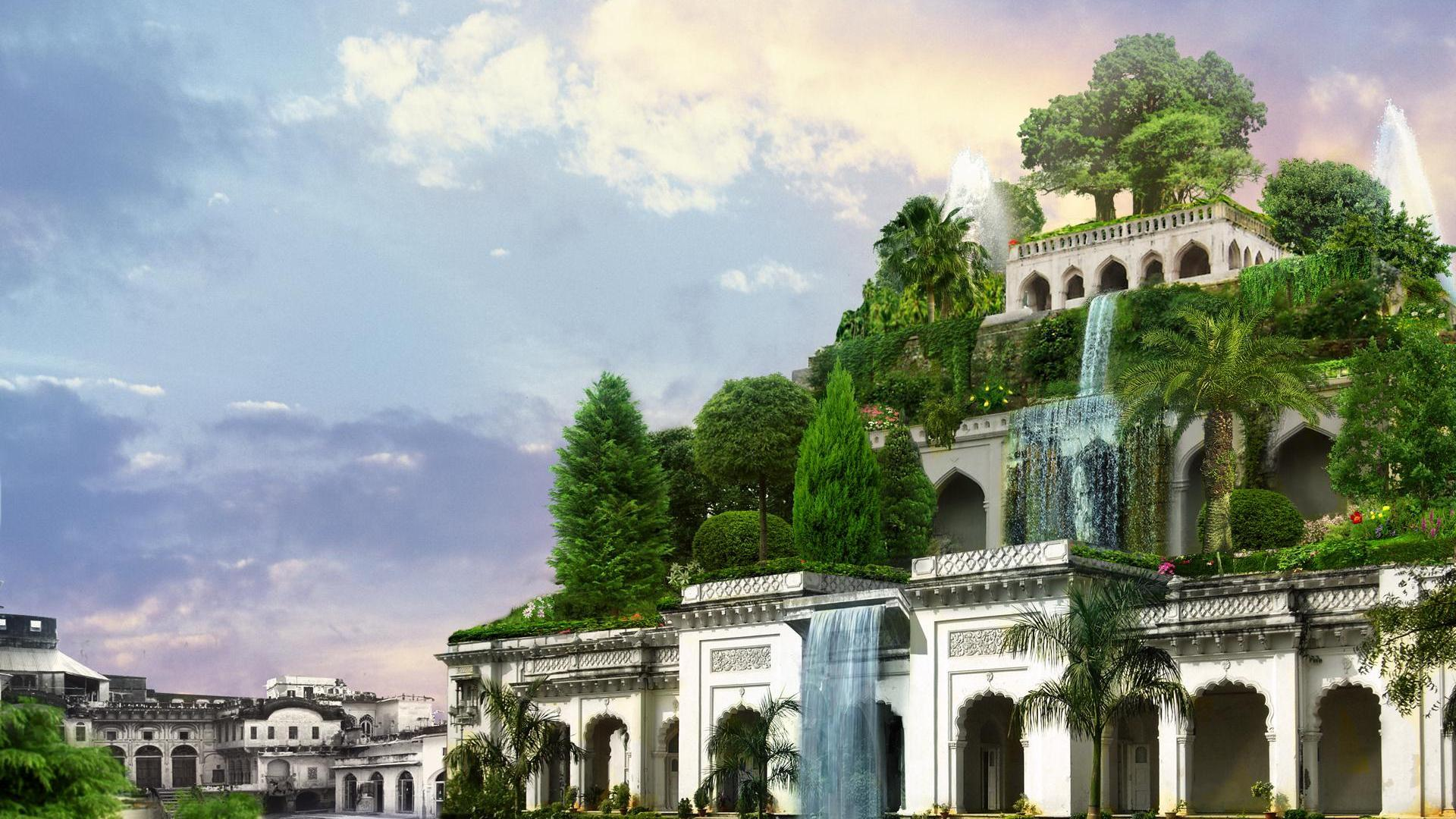 1920x1080 The Hanging Gardens Of Babylon Wallpapers