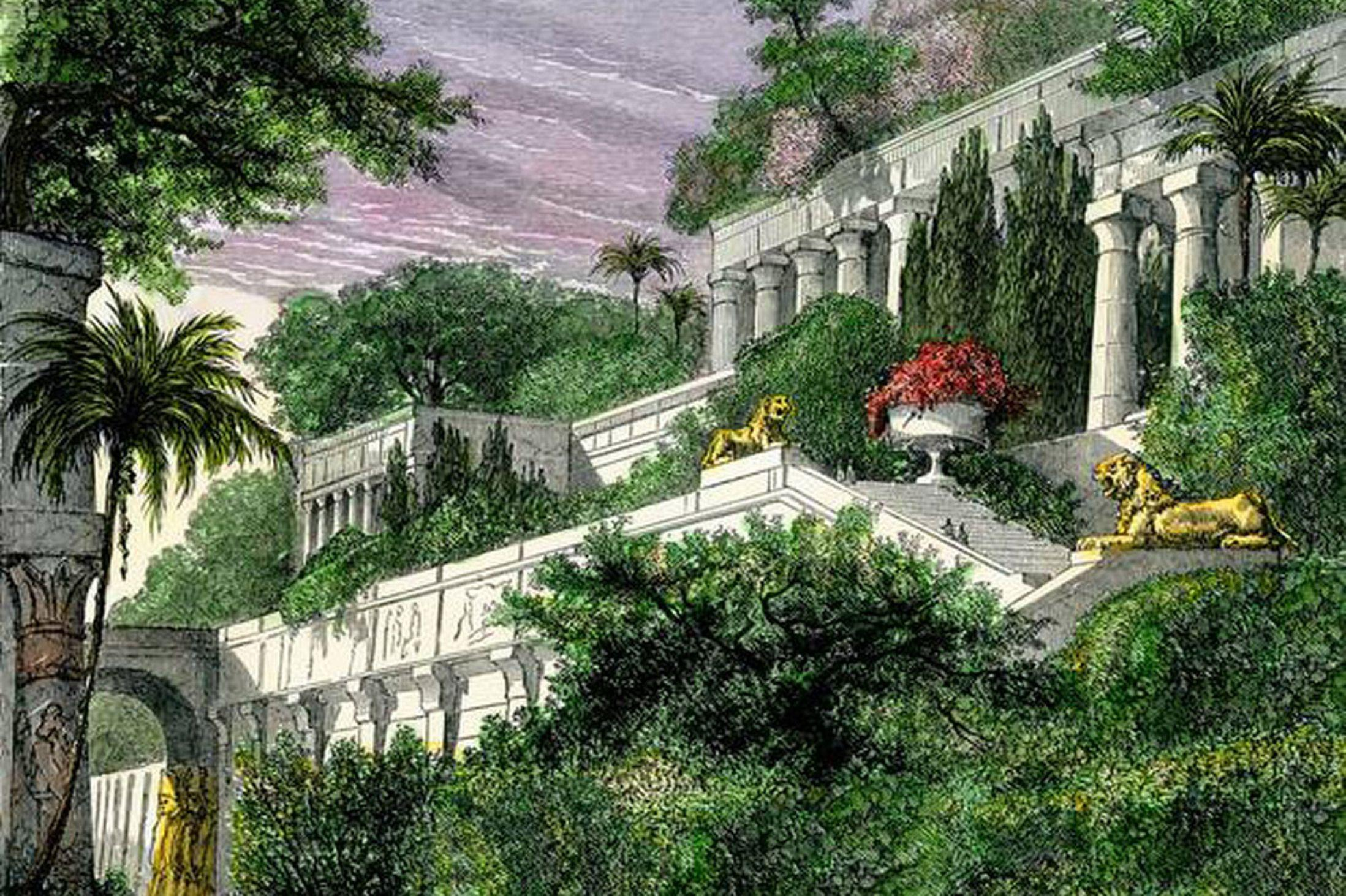 2197x1463 The Hanging Gardens Of Babylon Wallpapers