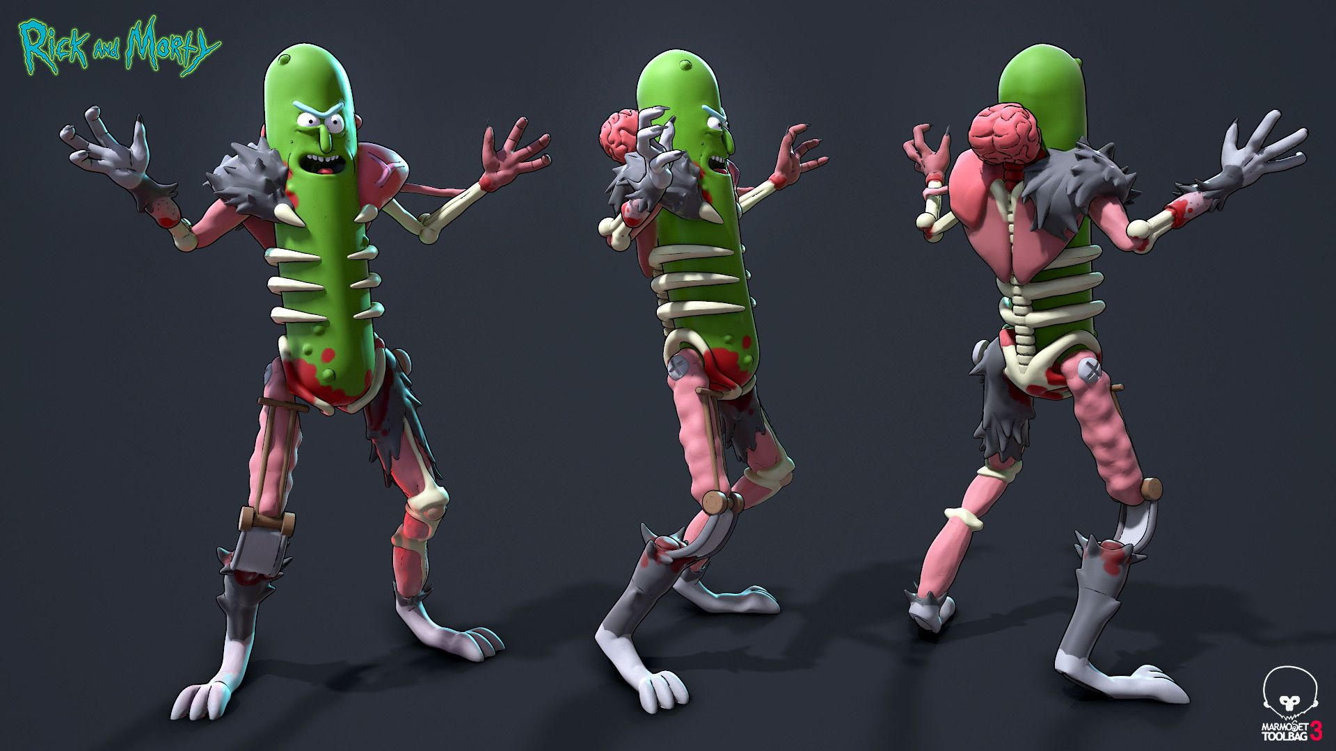 1920x1080 ArtStation - Pickle Rick, Paul Scott