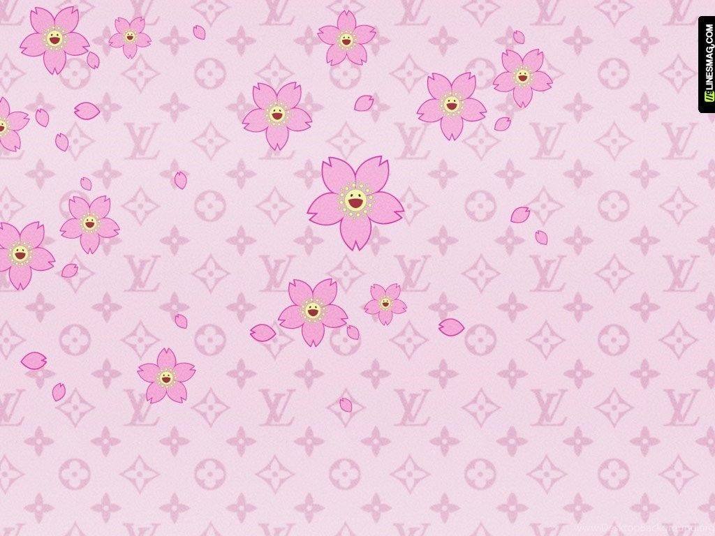 1024x768 Louis Vuitton Wallpapers Pink