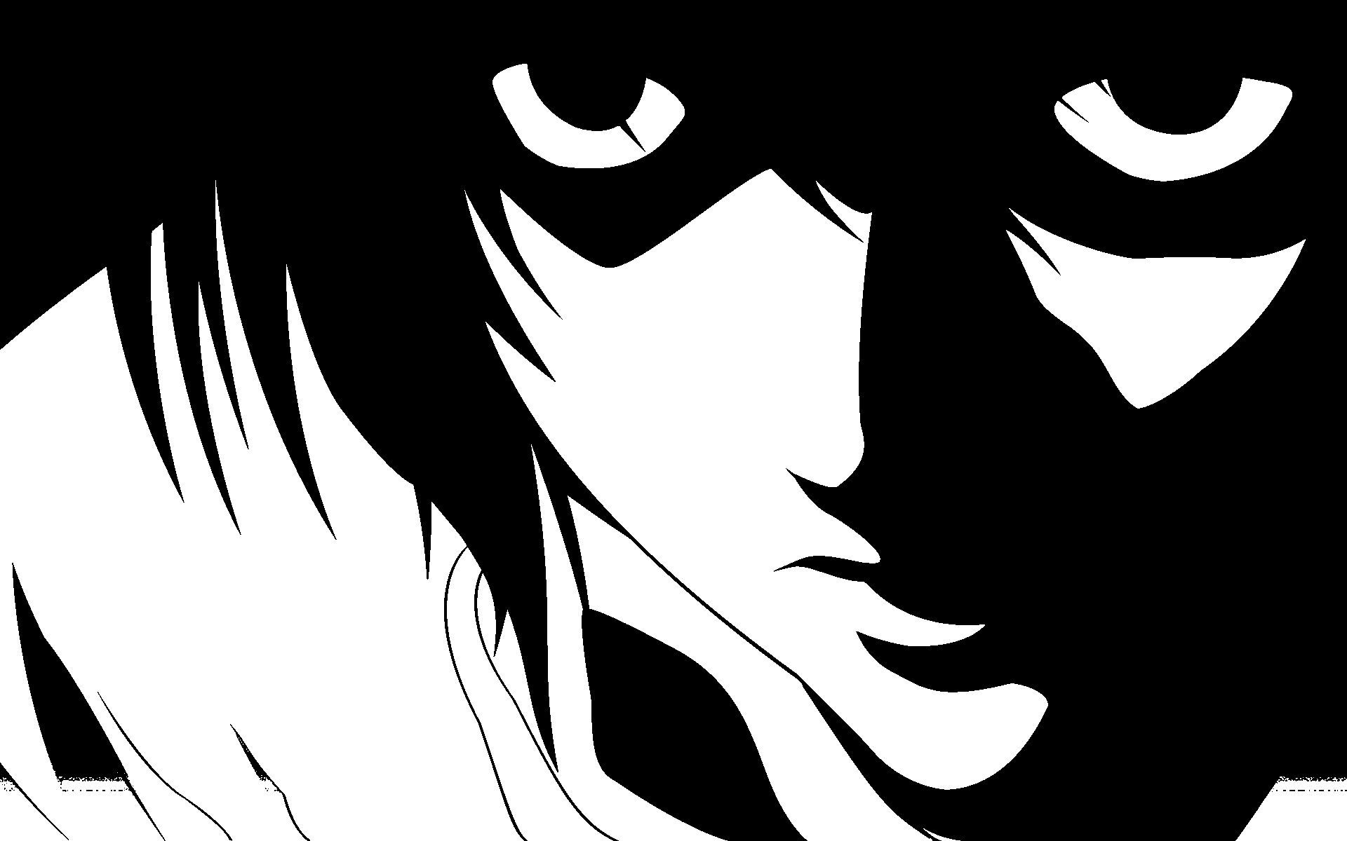 1920x1200 Death Note Wallpaper Anime Manga in Japan Black and White Wallpapers ...