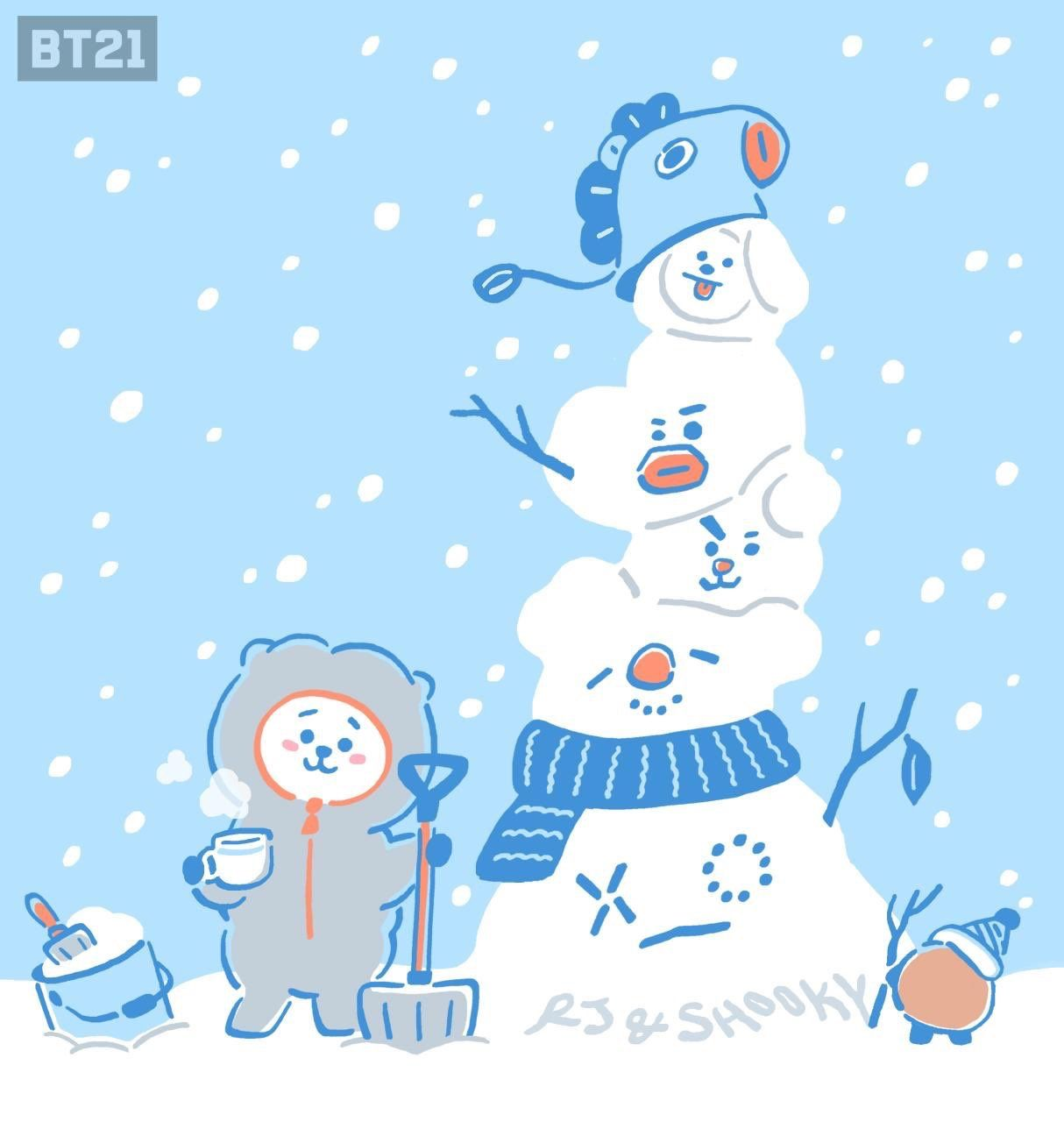 1214x1280 36 images about bt21 on We Heart It | See more about bt21 ...