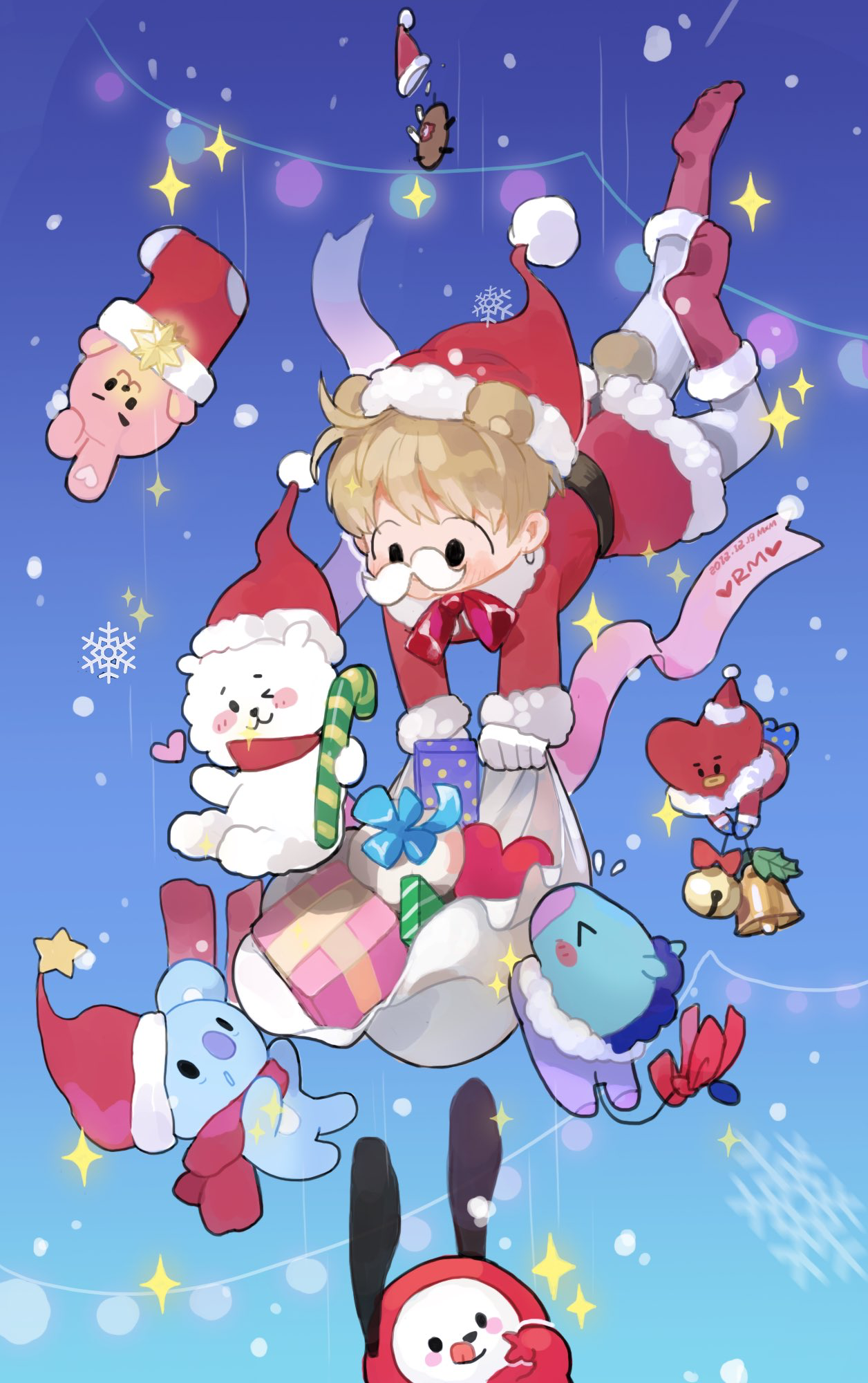1256x2000 Bt21 Christmas Wallpaper Related Keywords & Suggestions ...