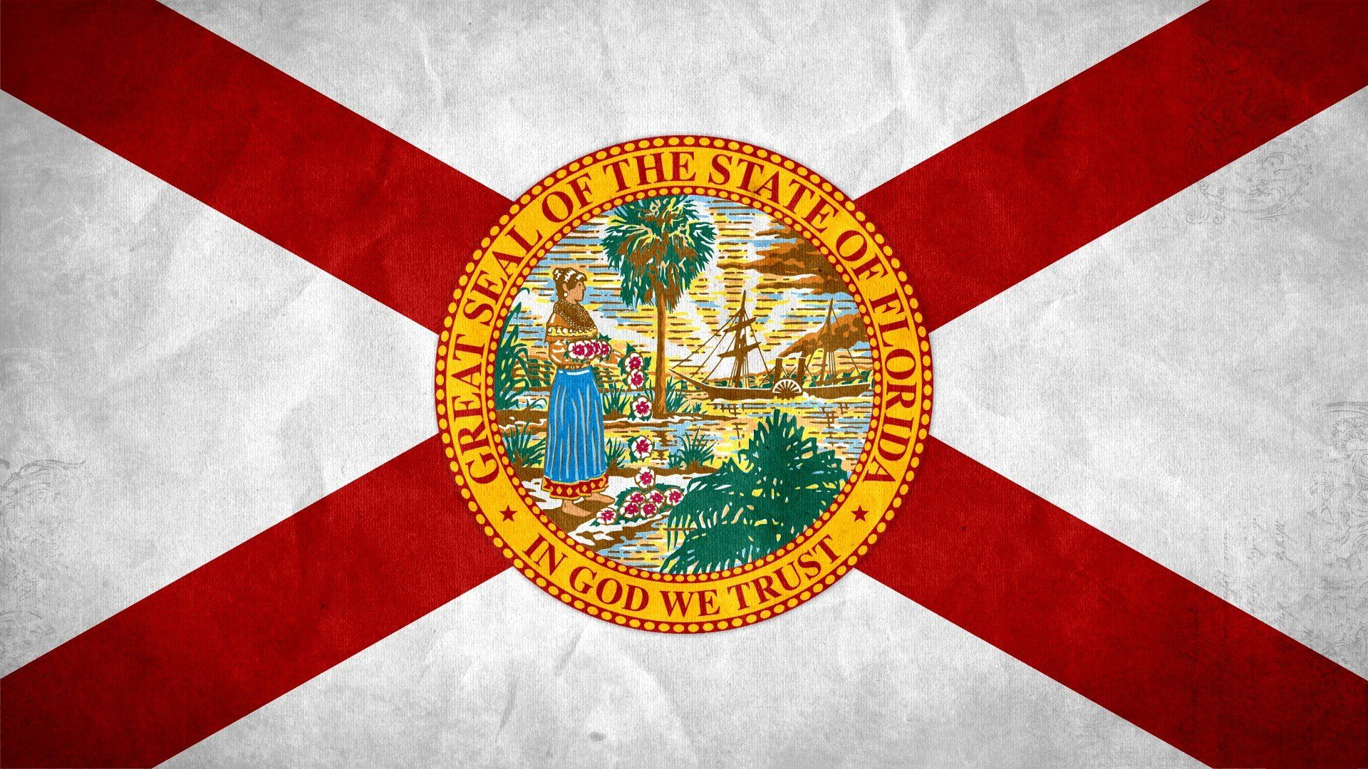 1920x1080 Florida, Flag Wallpapers HD / Desktop and Mobile Backgrounds
