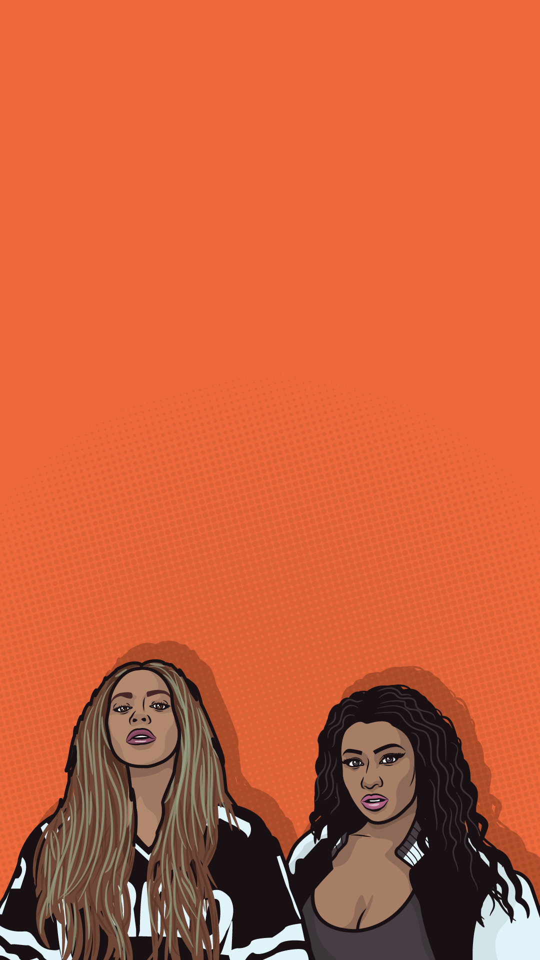 1080x1920 Beyonce And Nicki Minaj Iphone Wallpaper 7+ - Page 3 of 3 - dzbc.org