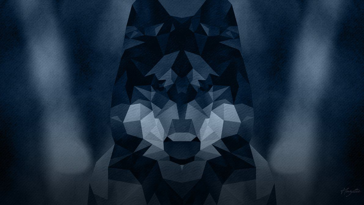 1191x670 Wolf Wallpapers Blue