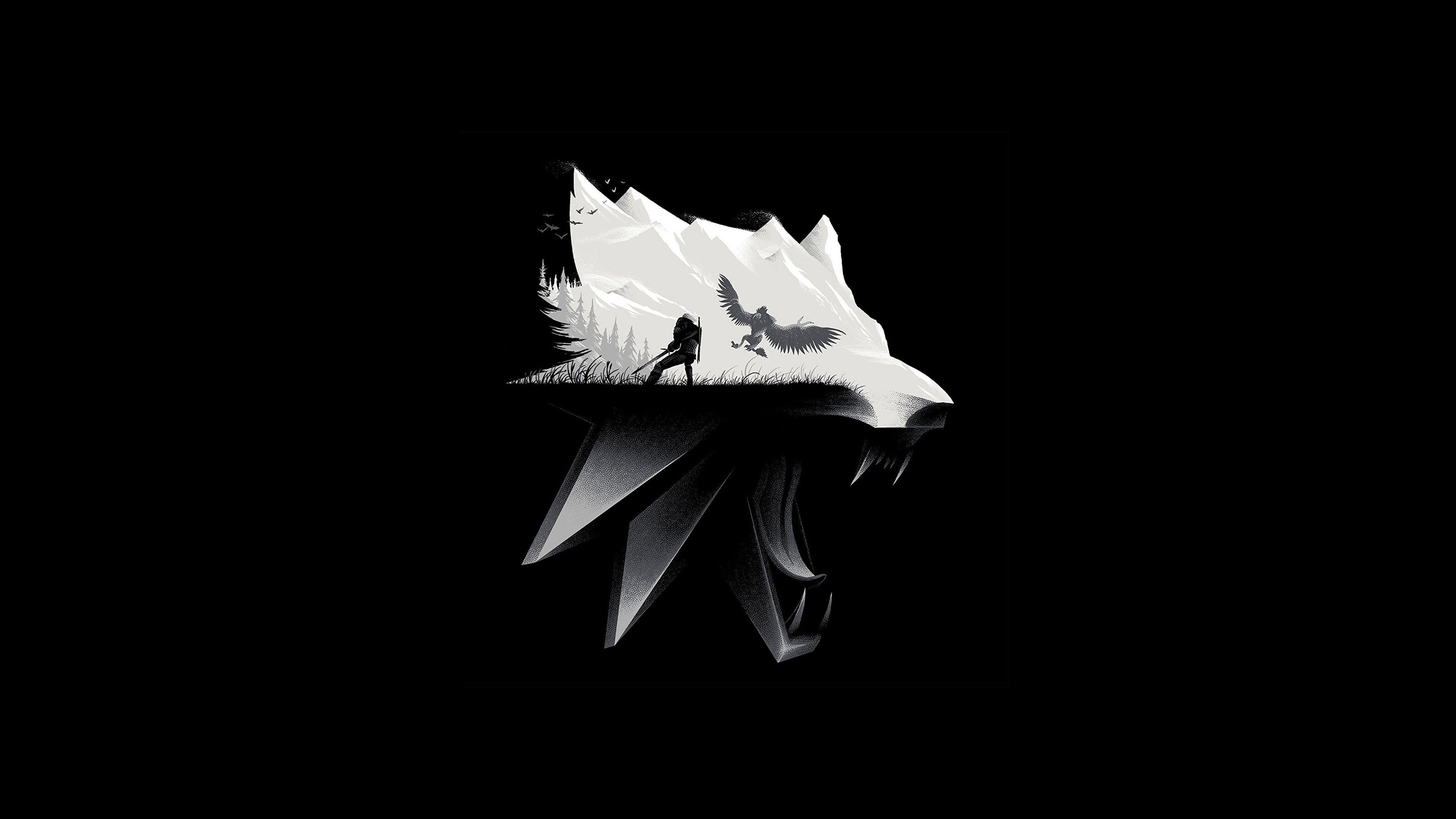 3840x2160 Wolf Art Wallpaper , (31+) Pictures