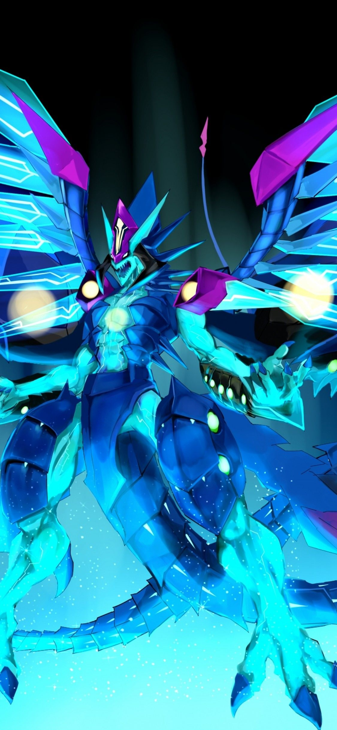 1125x2436 Download 1125x2436 Yu-gi-oh! Zexal, Galaxy Eyes Prime Photon Dragon ...
