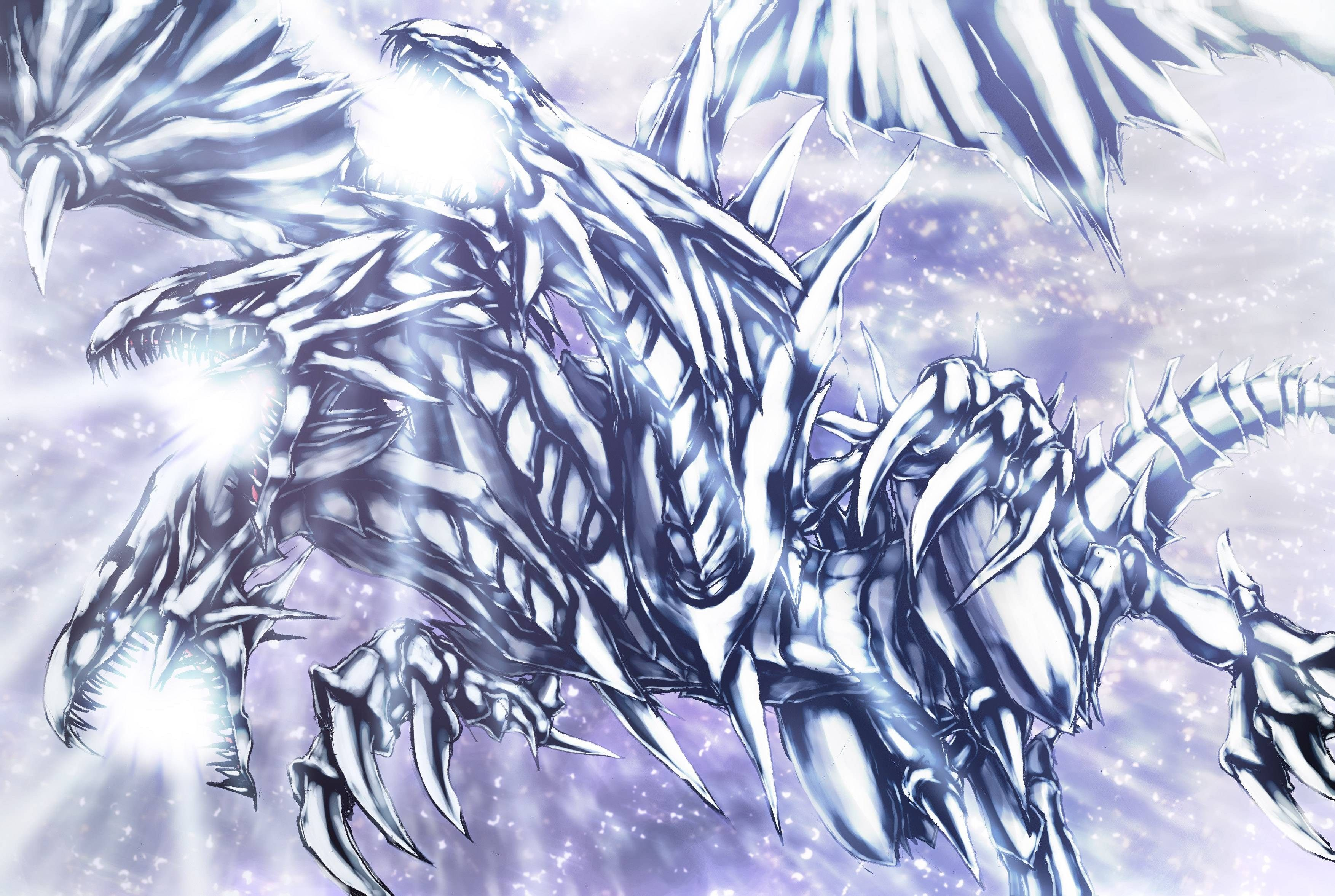 3507x2354 Blue Eyes White Dragon Wallpaper | 3D Wallpapers | Pinterest | White ...