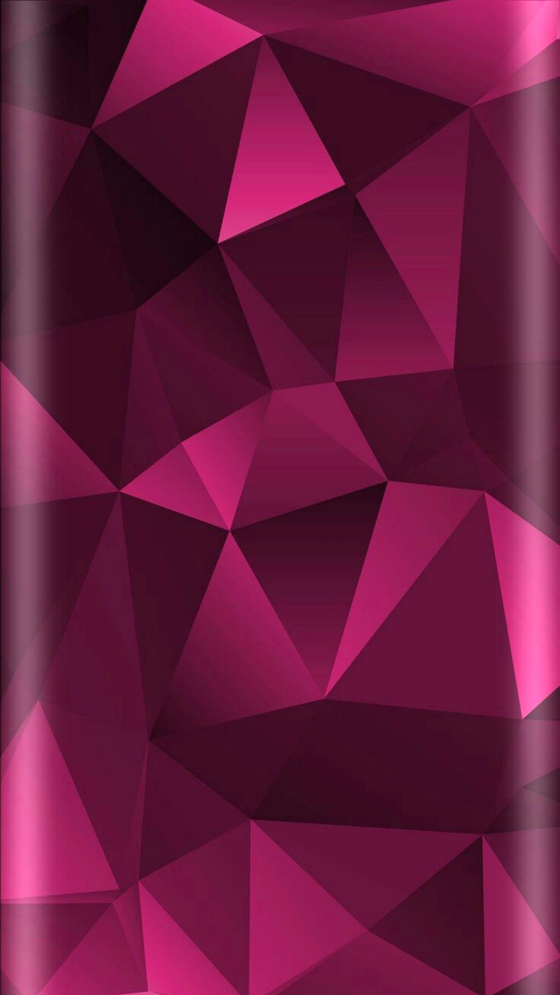 1154x2048 Pink Geometric Abstract Wallpaper | *Pink and Flowers ...
