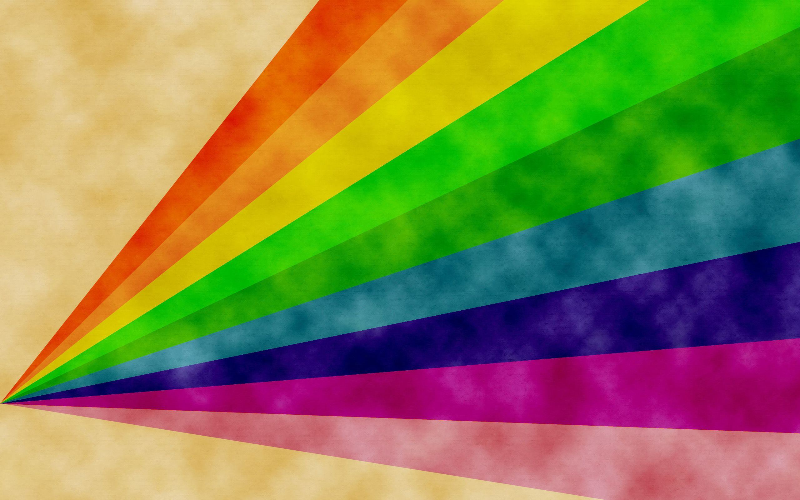 2560x1600 Download 2560x1600 Rainbow On Paper Wallpaper