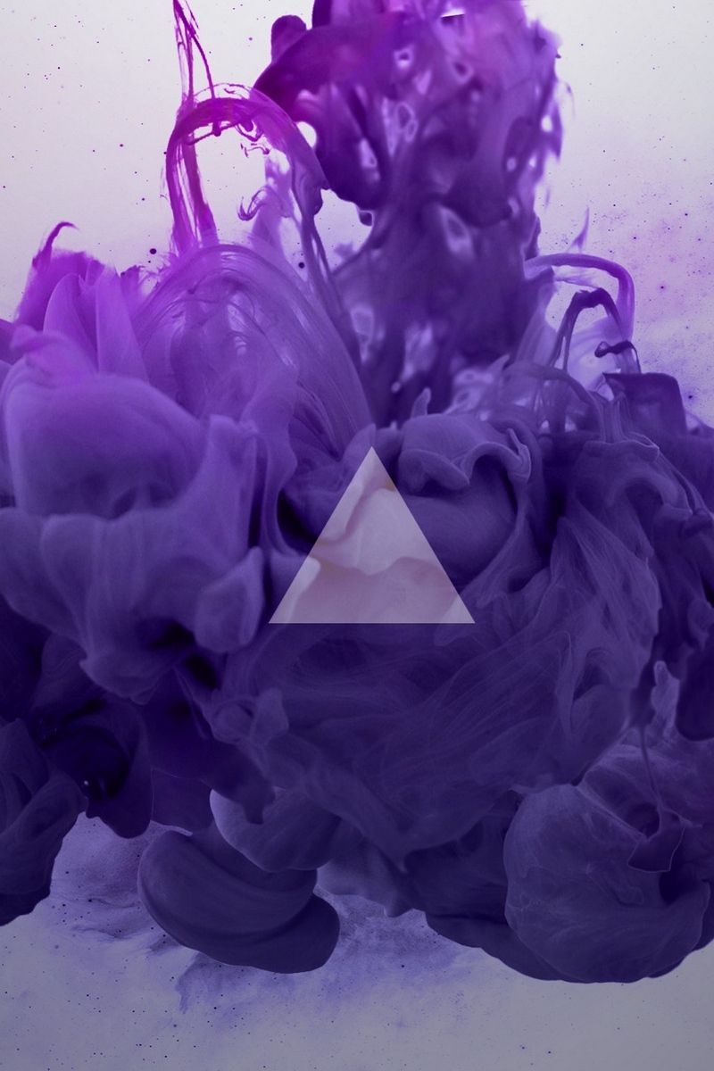 800x1200 Download wallpaper 800x1200 smoke, triangle, lilac iphone 4s ...