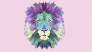Lion Geometric Wallpapers – Top Free Lion Geometric Backgrounds