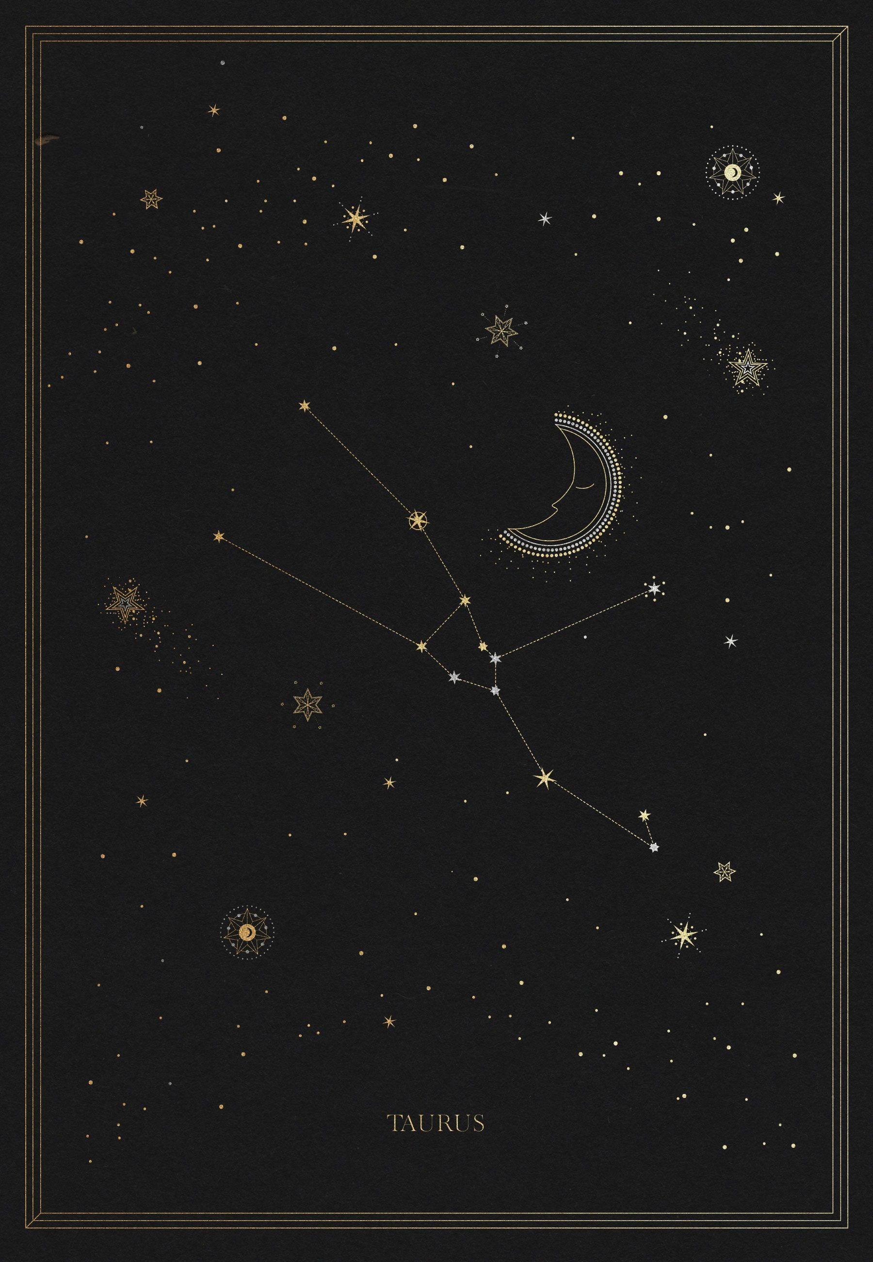 1800x2600 The Taurus Constellation | Design | Taurus constellation ...