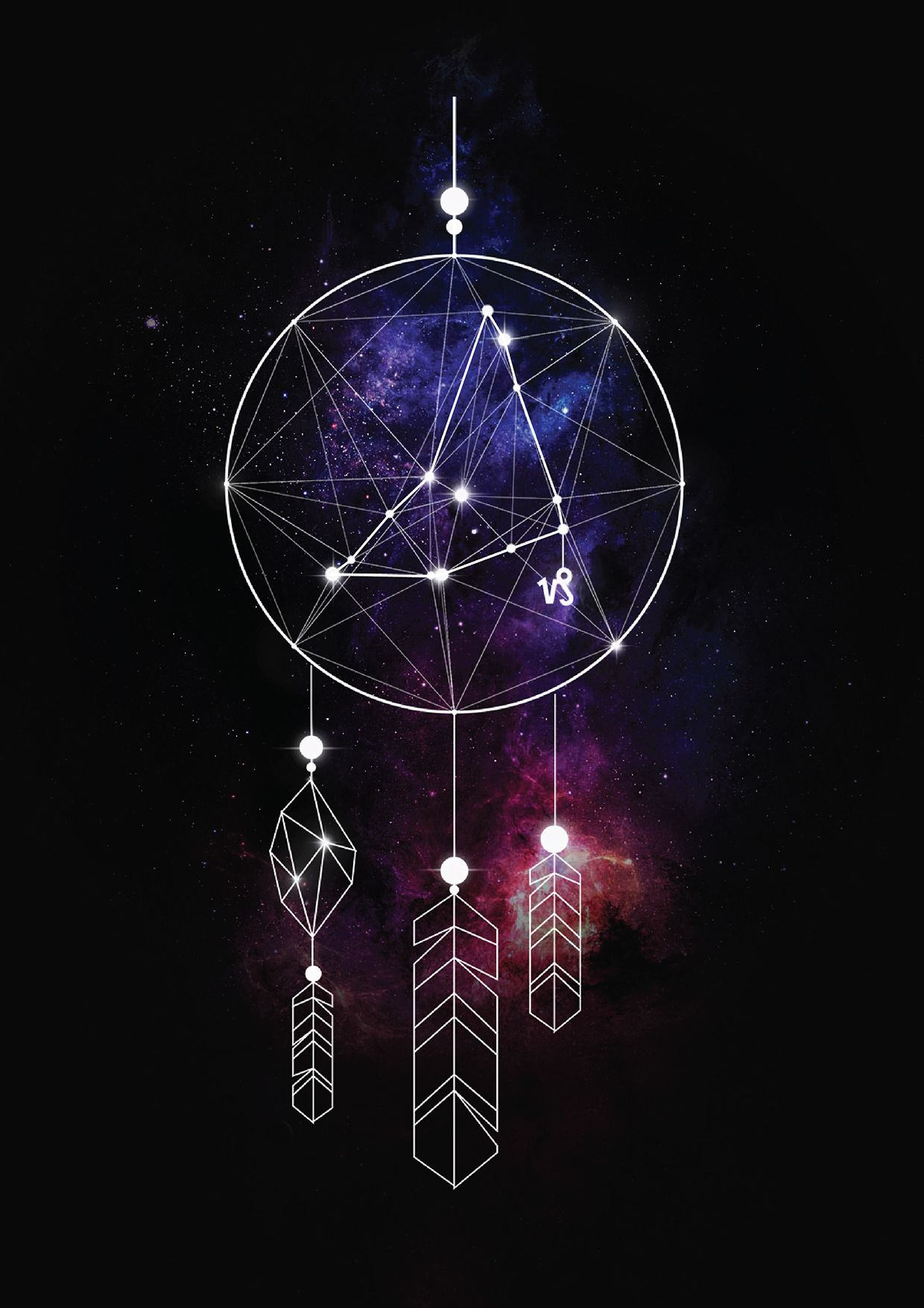1240x1754 Dreamcatcher - Capricornus | Color insp in 2019 | Sacred ...