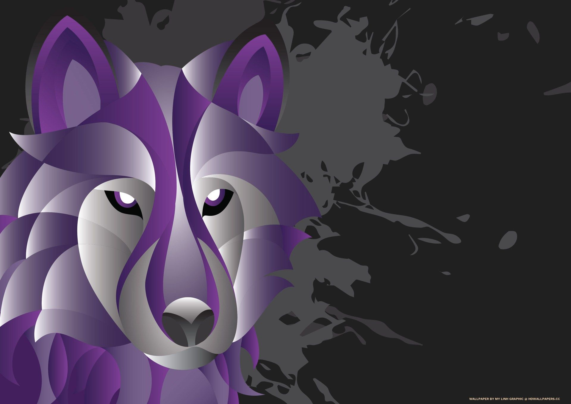 1919x1357 Charoite Wolf - HD Wallpapers
