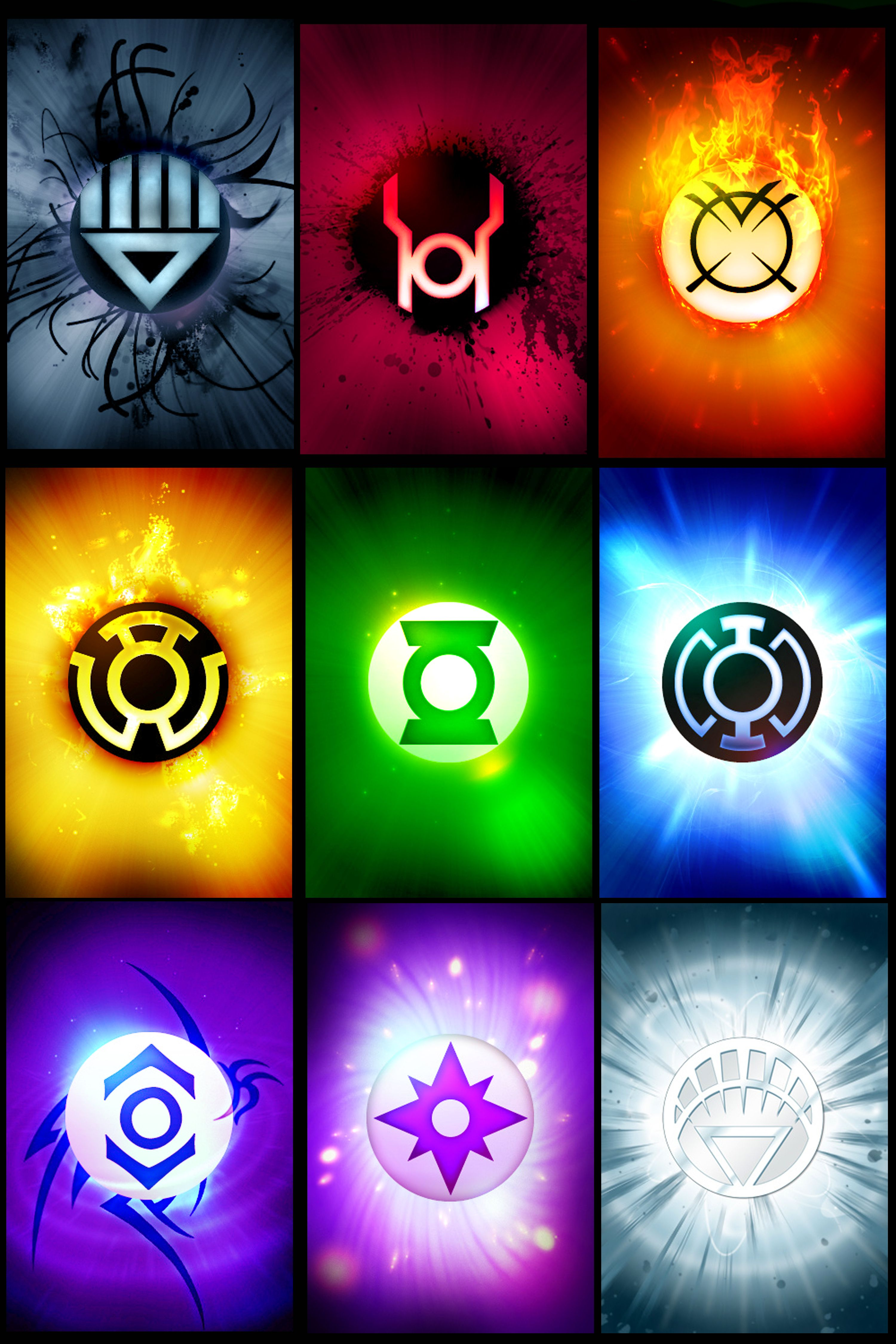 3000x4500 Best 54+ White Lantern Corps Background on HipWallpaper ...